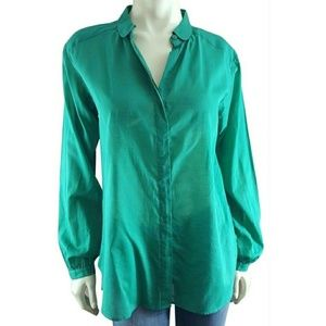 Fossil Button-up Blouse Shirt